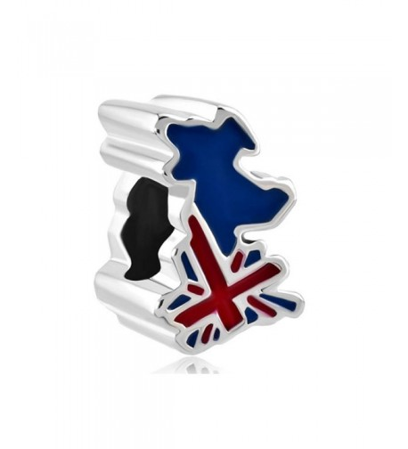 CharmsStory Patriotic British Country Bracelets