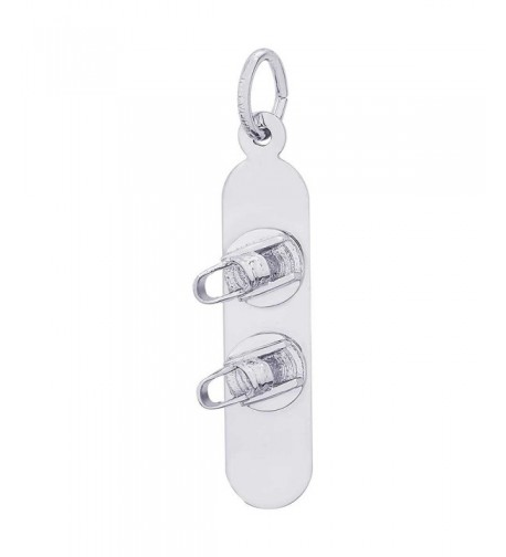 Rembrandt Charms Snowboard Sterling Silver