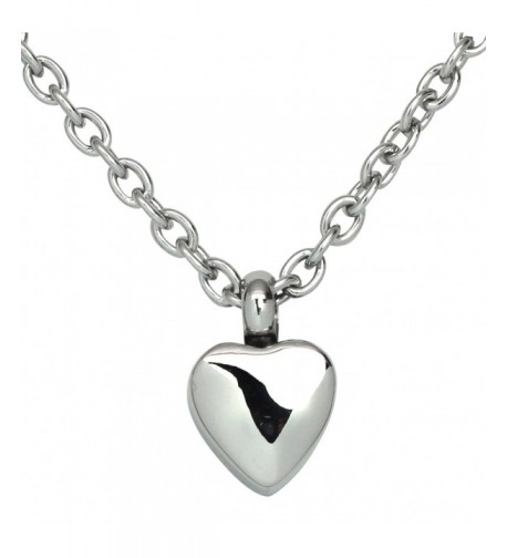 Precious Cremation Pendant Necklace Stainless