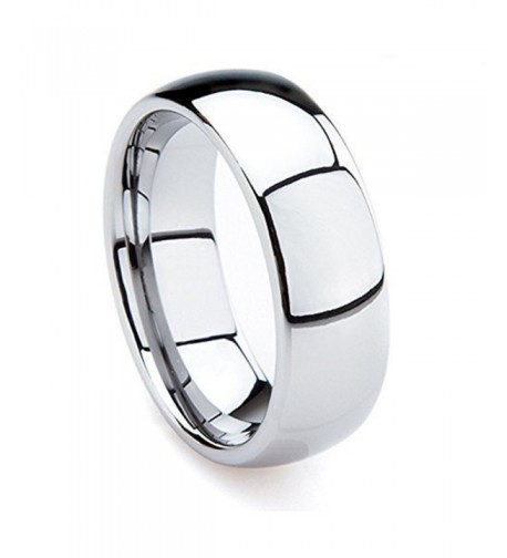 Tungsten Carbide Polished Comfort Wedding