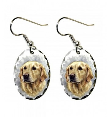 Canine Designs Retriever Scalloped Earrings