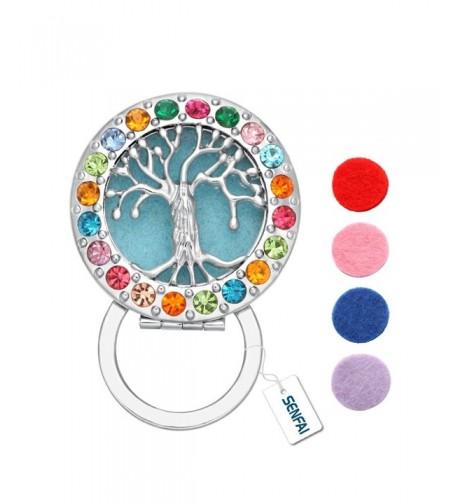 SENFAI Colorful Crystal Eyeglass Luminous