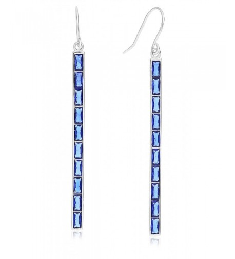 Sterling Silver Shaped Dangle Earring