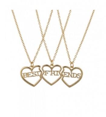 Lux Accessories Friends Broken Necklace