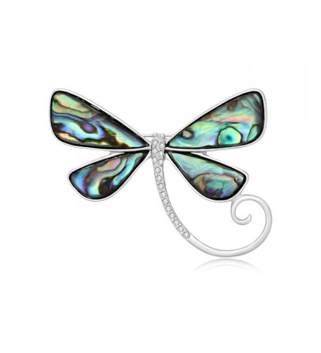 SENFAI Dragonfly Abalone Eyeglass Wearable