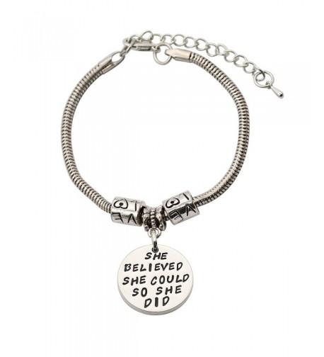 CAROMAY Bracelets Believed Inspiration Christmas