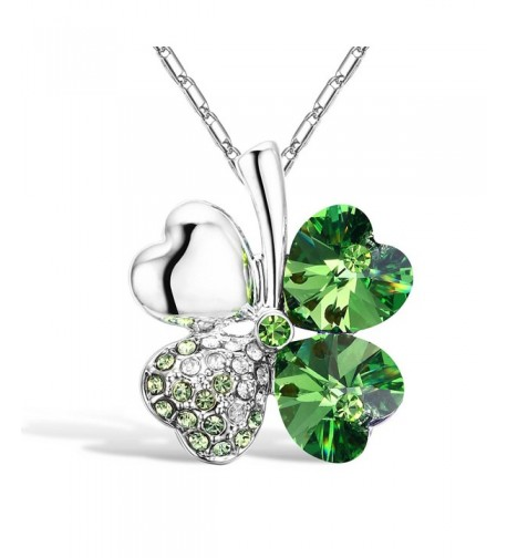 Merdia Crystal Pendant Necklace Extender
