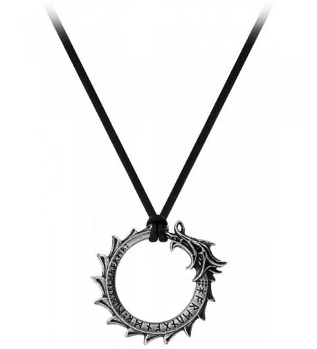 Jormungand Pendant Alchemy Gothic Metal Wear