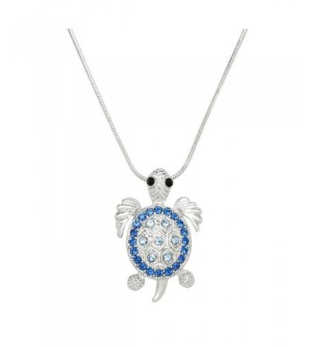 Liavys Turtle Pendant Fashionable Necklace