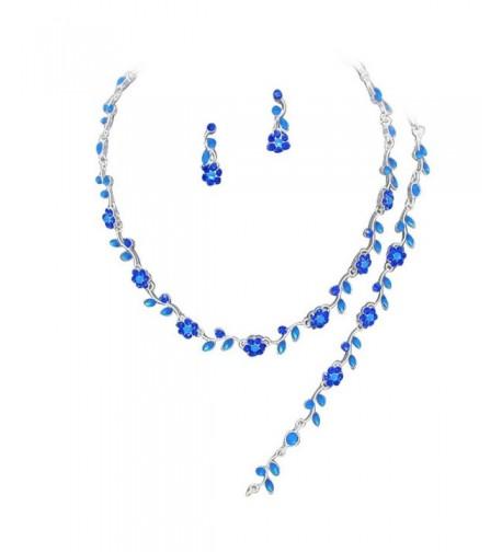 Affordable Crystal Bridesmaid Necklace Bracelet