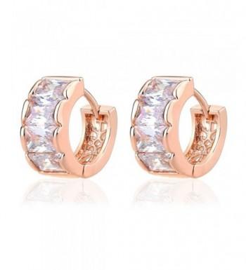 IPINK Crystal Zirconia Plated Earrings