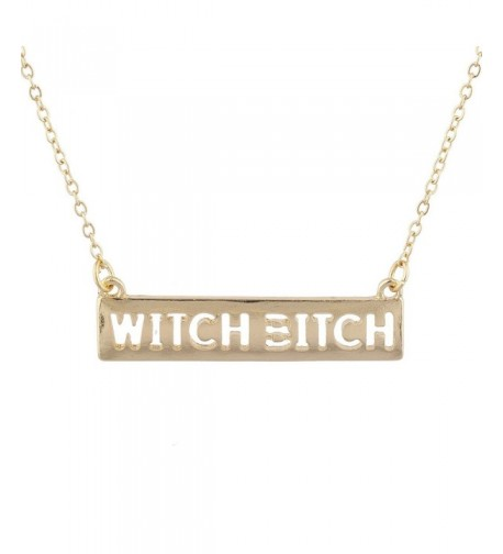 Lux Accessories Witch Wiccan Necklace