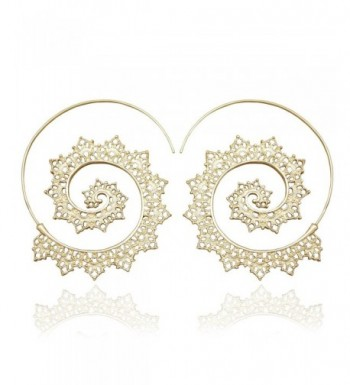 RechicGu Filigree Threader through Earrings