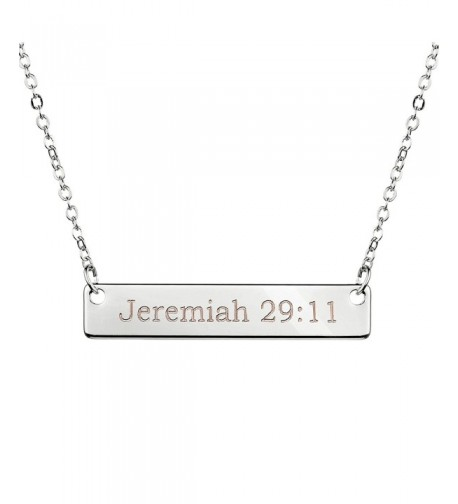 Christian Necklace Baptism Birthday Jeremiah