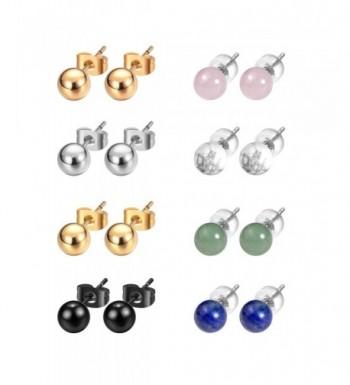 JADENOVA Stainless Earrings Gemstone Earring