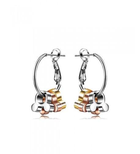 Triple Color Animal Mouse Earrings