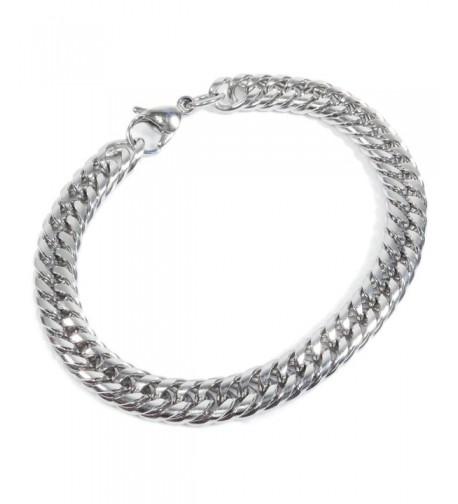 Stainless Steel Tight Double Bracelet