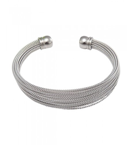 Stainless Steel Multi bands Bracelet stainless steel
