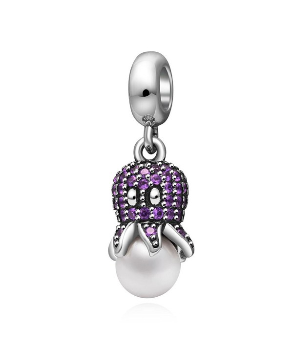 Octopus Dangle Sterling Pandora Bracelet