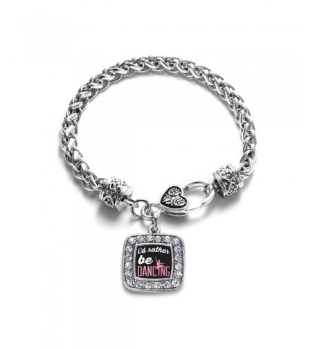 Dancing Classic Silver Crystal Bracelet