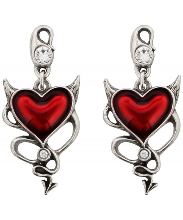 Devil Heart Pair Earrings Alchemy