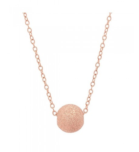 Sterling Silver Texture Floating Necklace