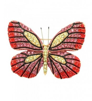KristLand Austrian Butterfly Brooches Corsages