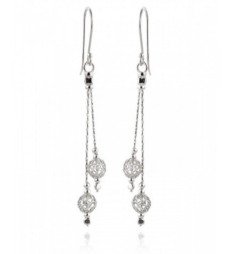 Filligree Earrings Sterling Elegant Everyday