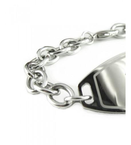 MyIDDr Pre Engraved Customized Medical Bracelet