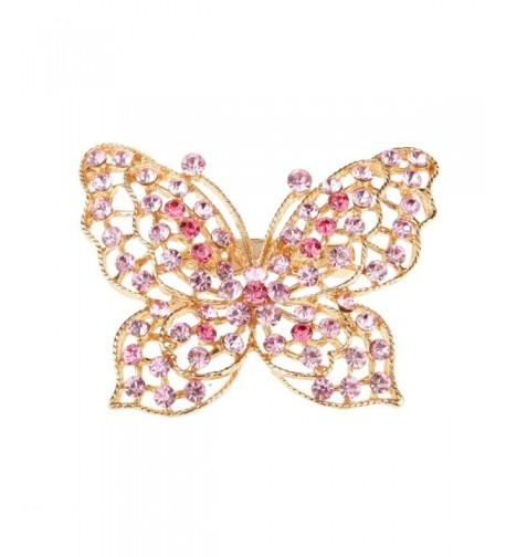 MagiDeal Butterfly Crystal Rhinestone Fashion