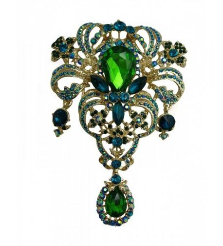 TTjewelry Classic Rhinestone Crystal Pendant