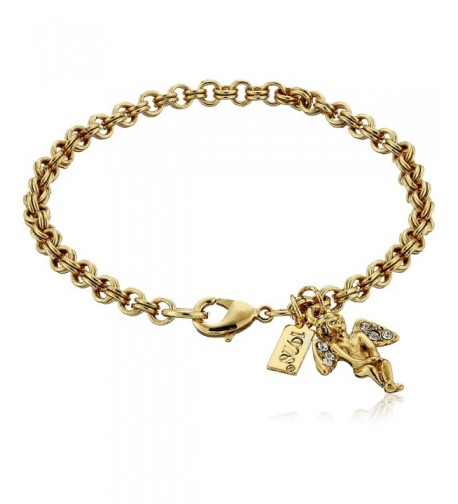 Symbols Faith Inspirations Gold Dipped Bracelet