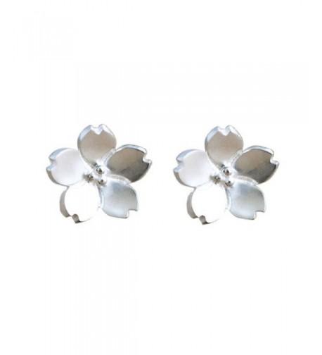 Sterling Silver Blossom Earrings Flowers