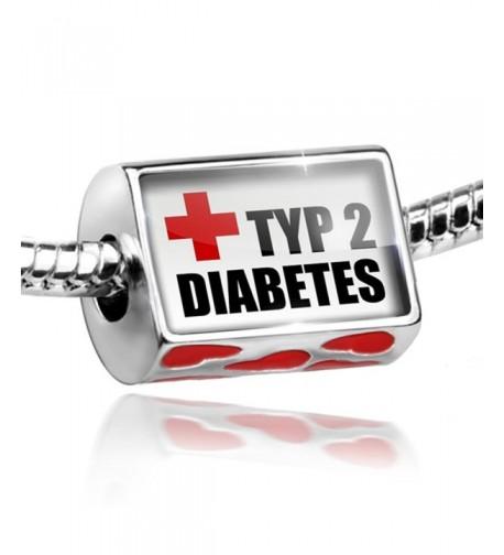 Bead Hearts Medical Alert diabetes