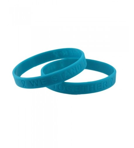 Teal Silicone Bracelets Give 8 99