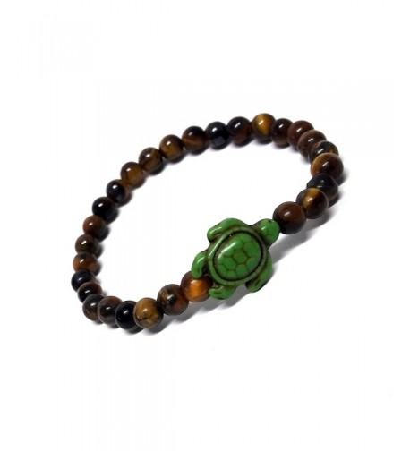 Tiger Hawaiian Stones Bracelet Turtle