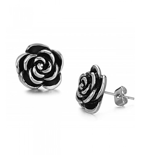 Jewelry Beautiful Titanium Stainless Earrings