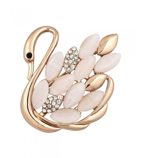 JewelryHouse Plated Fancy Woman Brooches