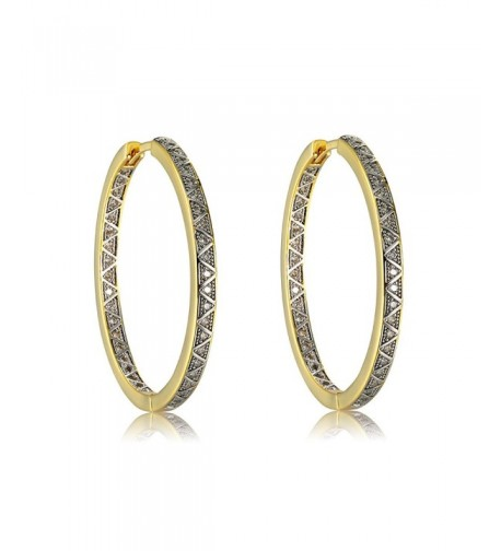 Plated Brass Zirconia Earrings Richapex