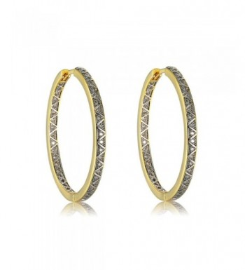 Plated Brass Zirconia Earrings Richapex