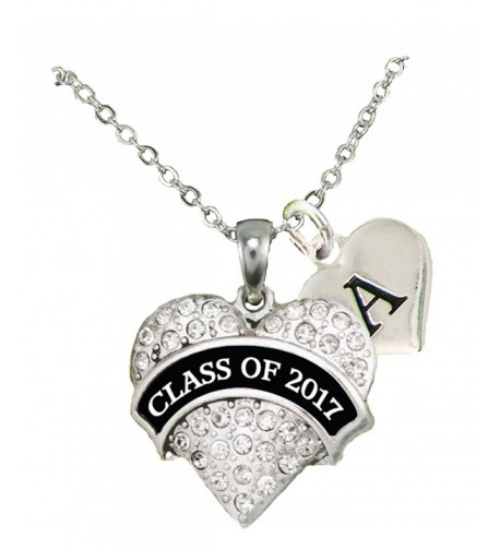 Custom Graduation Necklace Jewelry Initial