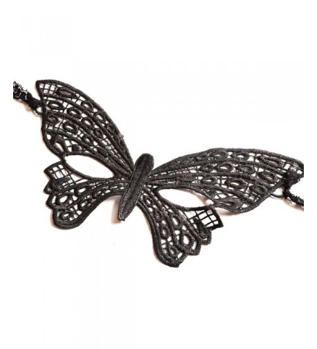 Yazilind Lolita Gothic Butterfly Masquerade