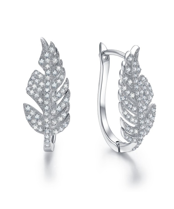 LicLiz Sterling Silver Zirconia Earrings