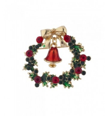 Lux Accessories Holiday Christmas Rhinestone
