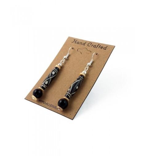 Handmade Buffalo Hairpipe Dangling Earrings
