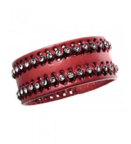 Quality Leather Bracelet Valentines Adjustable