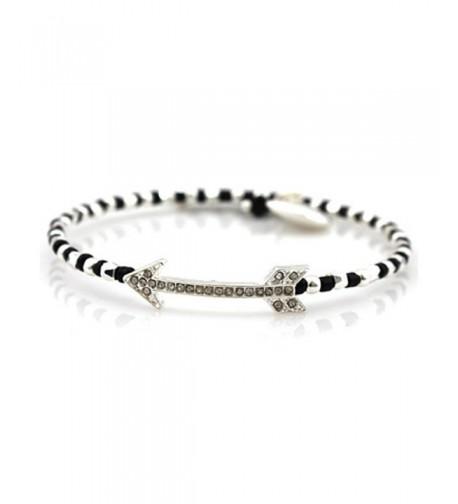 Bling Studded Bracelet FB 5775 Silver
