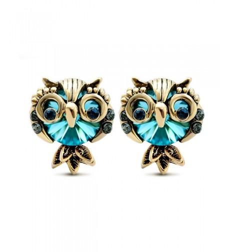 LNKRE JEWELRY Rhinestone Gemstone Earrings