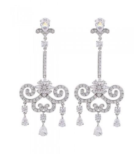 GULICX Austrian Romantic Chandelier Earrings