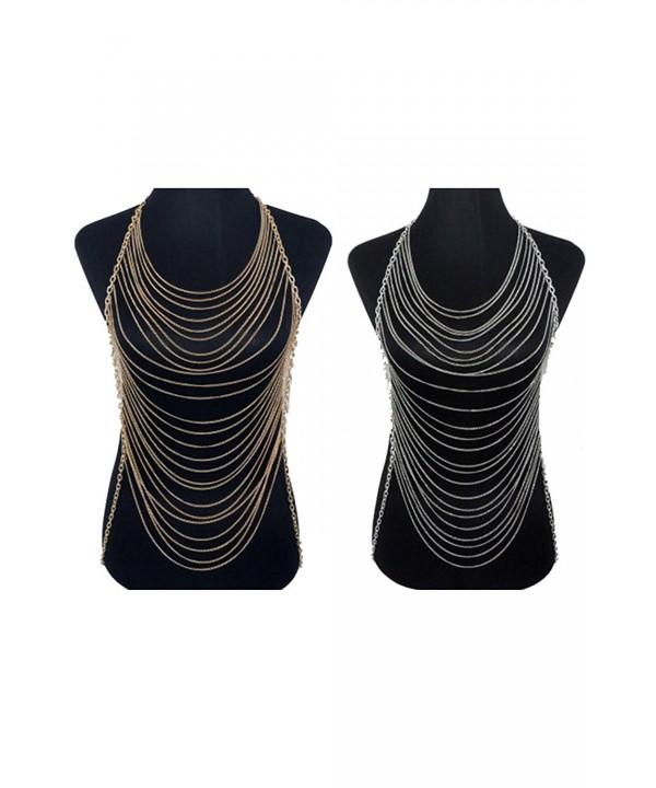 Wrapped Gorgeous Fashion Necklace JBC1023
